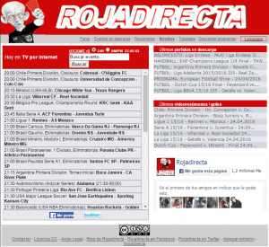 Rojadirecta - Ver Fútbol En Vivo Online