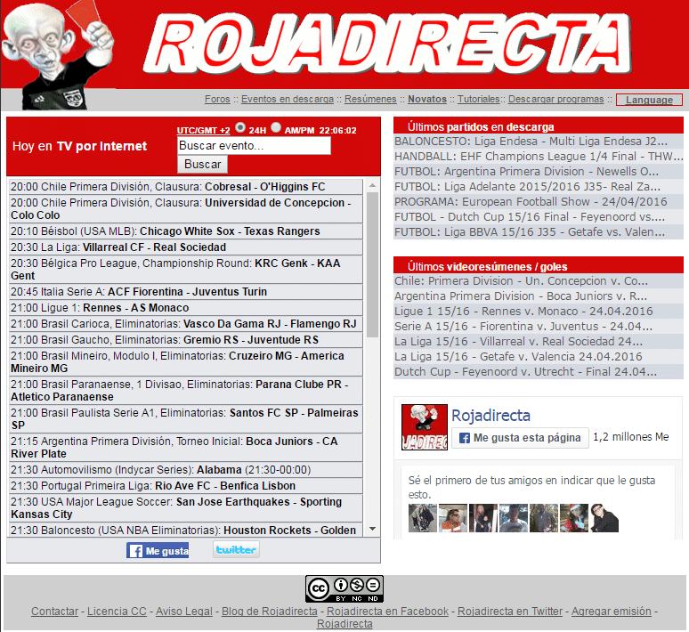 Real Madrid En Vivo La Roja